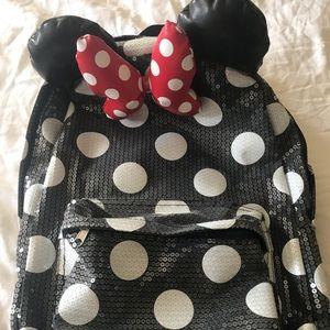 Authentic Minnie Mouse Back Bag